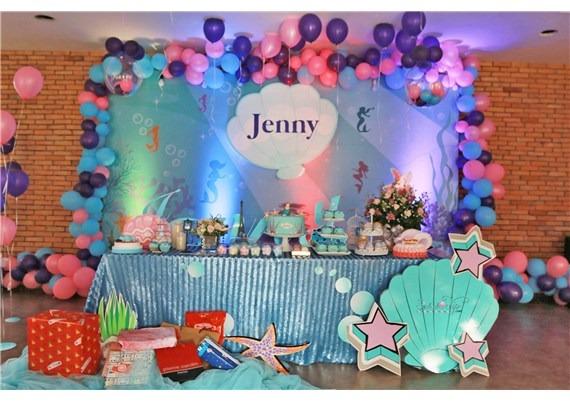 Tiệc Sinh Nhật Bé Jenny – Chủ Đề Nàng Tiên Cá
