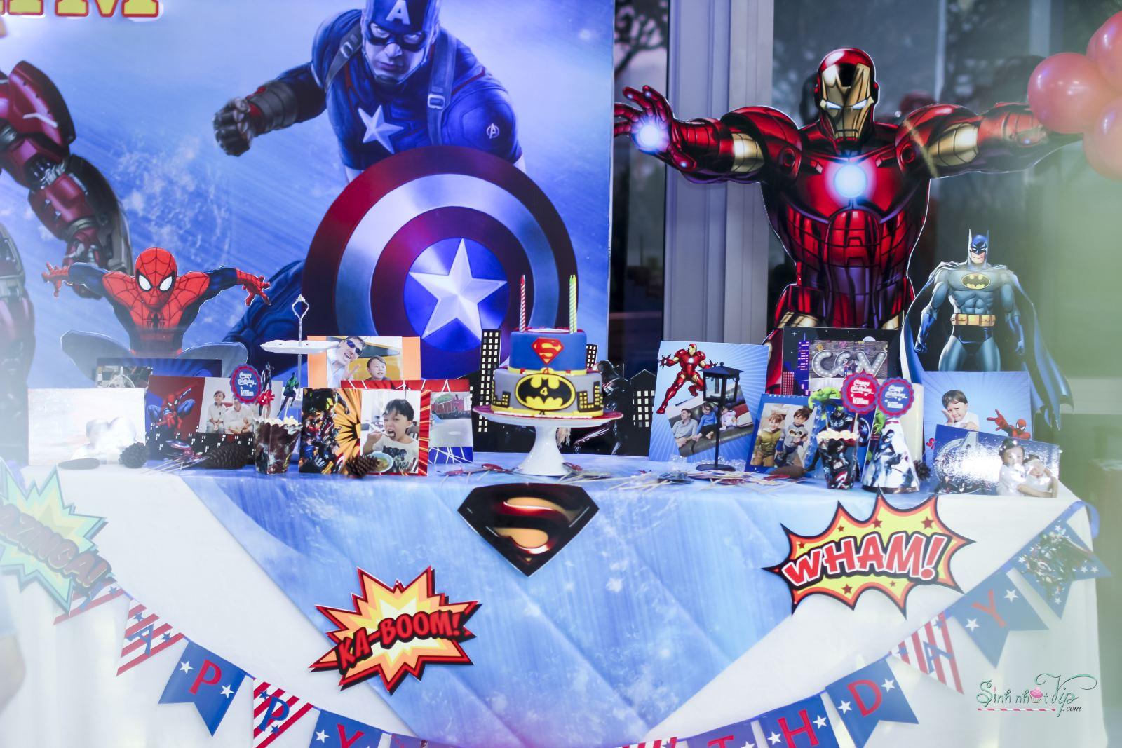 Chủ đề Avengers mạnh mẽ