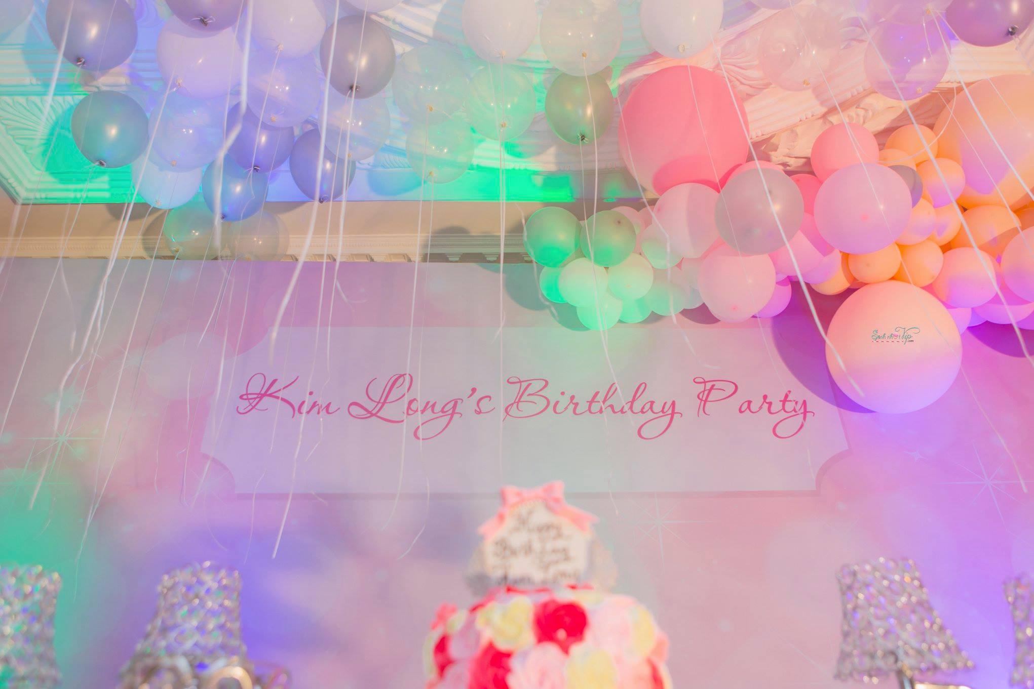 KIM LONG'S BIRTHDAY PARTY