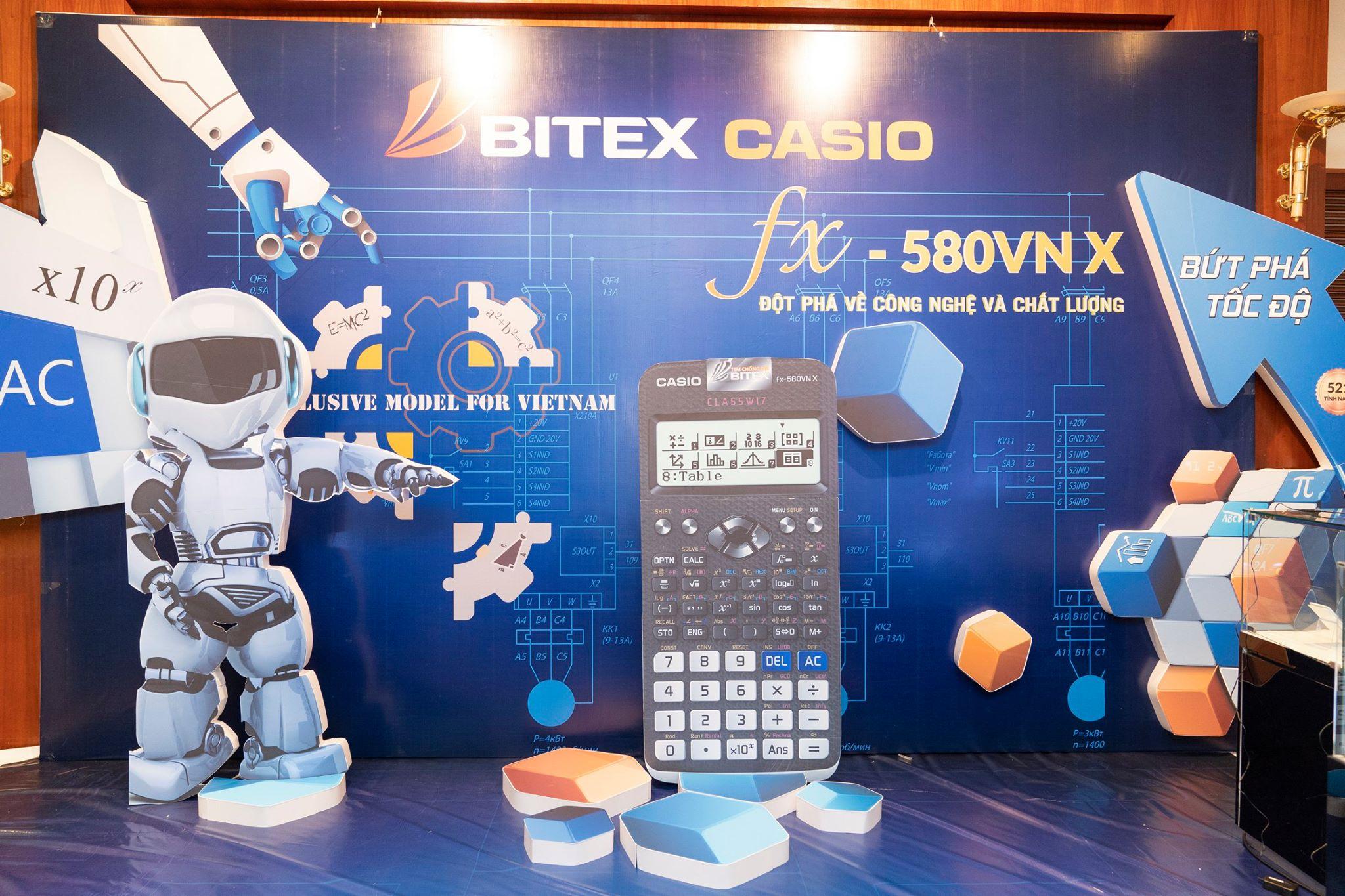 TỔ CHỨC HỘI NGHỊ KHÁCH HÀNG MIỀN NAM & MIỀN BẮC – BITEX CASIO FX 580 VNX