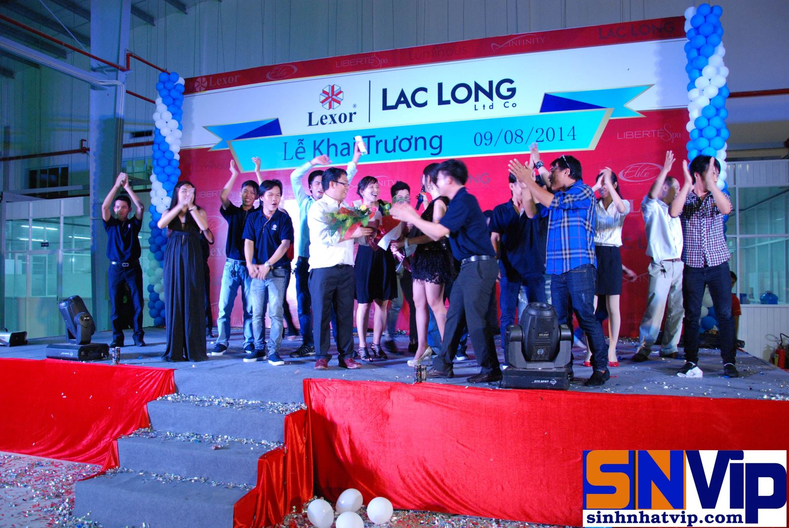 Khai Trương Công Ty Lac Long