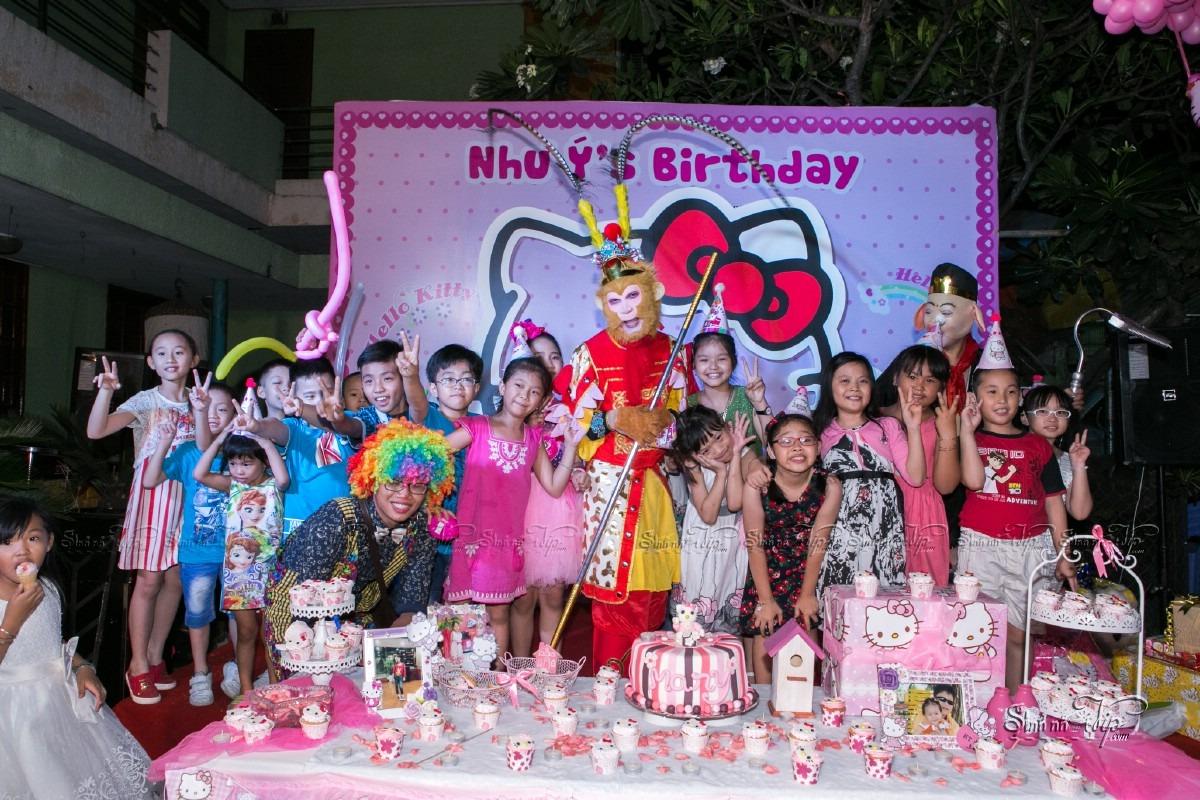 Tổ chức sinh nhật với chủ đề Hello Kitty